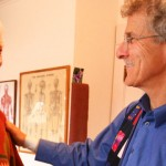 Dr. Marc Heller interacting with a smiling patient