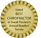 Marc Heller, DC and Matt Terreri, DC were both voted Best Chiropractor by Ashland, Oregon, residents in Sneak Preview's Annual Readers' Survey in 2011