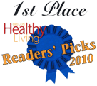 Marc Heller, DC received 1st Place in the Oregon Healthy Living Readers Picks (2010)